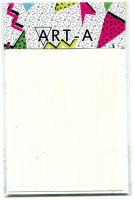 3D наклейка STRIPES белые ART-A (полосы, гнутся)