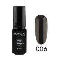 Краска для стемпинга черный ELPAZA 06, 5мл.
