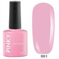 №001 Гель-лак PINKY Classic Джульетта 10мл. (нежно-розовый)