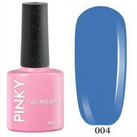 №004 Гель-лак PINKY Classic Королевская Гавань 10мл. (фиолетово-синий)