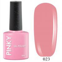 №023 Гель-лак PINKY Classic Персиковое Платье 10мл. (розовый-персик)