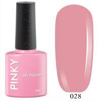 №028 Гель-лак PINKY Classic Балет 10мл. (натуральный розовый)