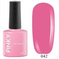 №042 Гель-лак PINKY Classic Тутти Фрутти 10мл. (розовый приглушенный)
