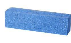 Блок для шлифовки ногтей синий