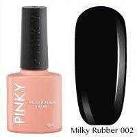 Каучуковая молочная база PINKY Milky Rubber Base 002 10мл. (черная)