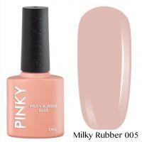 Каучуковая молочная база PINKY Milky Rubber Base 005 10мл. (бежево-розовая)