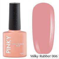 Каучуковая молочная база PINKY Milky Rubber Base 006 10мл. (натурально-розовая)