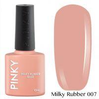 Каучуковая молочная база PINKY Milky Rubber Base 007 10мл. (бежевый натуральный)