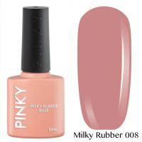 Каучуковая молочная база PINKY Milky Rubber Base 008 10мл. (бежево-розовый насыщеный)