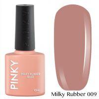 Каучуковая молочная база PINKY Milky Rubber Base 009 10мл. (лилово-бежевый натуральный)