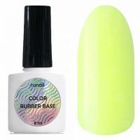 Цветная каучуковая база Color Rubber Base №5309 8мл. Runail Professional