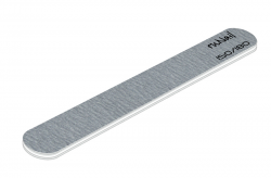 Профессиональная пилка для искусственных ногтей (серая, закруглённая, 150/180)