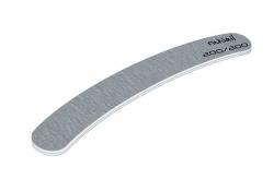 Профессиональная пилка для искусственных ногтей (серая, бумеранг, 200/200)