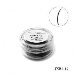 ESB-I-12 Высококачественные ресницы в банке