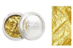 Дизайн для ногтей: фольга (золотой)