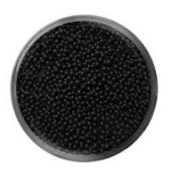 Бульонки № 317 TINY SEVERINA (черные, непрозрачные)