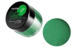 Цветная акриловая пудра натуральная Pure Green7,5 гр.