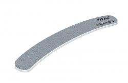 Профессиональная пилка для искусственных ногтей (серая, бумеранг, 100/120)