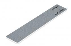Профессиональная пилка для искусственных ногтей (серая, прямая, 200/200)