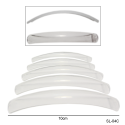 SL-4C Типсы подиумные прозрачные (в упаковке 10шт.)