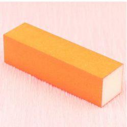 Блок для шлифовки ногтей оранжевый NEW