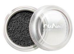 Дизайн для ногтей: бульонки (черный)