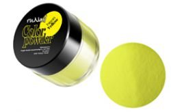 Цветная акриловая пудра Neon Yellow7,5 гр.