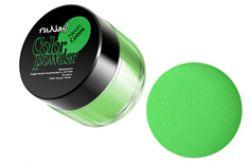 Цветная акриловая пудра Neon Green7,5 гр.