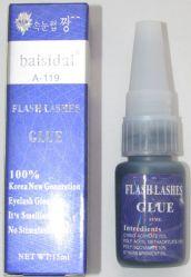 """Клей для ресниц Flash Lashes """"BaiSidai"""" черный 15 мл (гипоаллергенный)"""