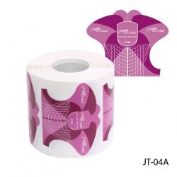 JT-04A Универсальные одноразовые формы бумажные,300шт