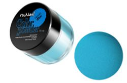 Цветная акриловая пудра Neon Blue7,5 гр.