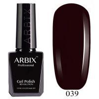 Гель-лак «Bluesky»  Exhale, коричнево-вишневый, полупр. 10ml.