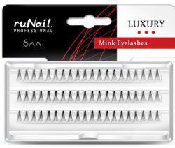 Пучки для наращивания ресниц без узелков Luxury, норка Ø 0,15 мм, №8