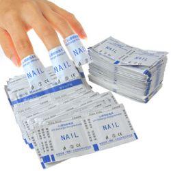 Салфетки для снятия гель-лака, перманентного лака MIAO Xi (200шт)