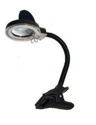 Лупа с лампой (3Dх-8х) на прищепке