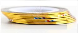DL-03A Декоративная лента золотого цвета