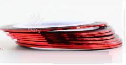 DL-03C Декоративная лента красного цвета